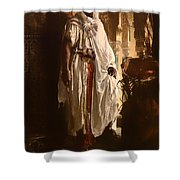 The Moorish Chief Shower Curtain