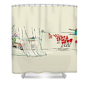 the Netherlands  3D Shower Curtain