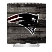 The New England Patriots 3a Shower Curtain