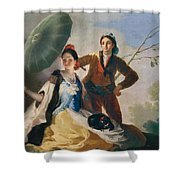 The Parasol Shower Curtain