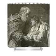 The Return Of The Prodigal Son Shower Curtain