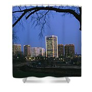 The Richmond, Virginia Skyline Shower Curtain