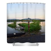 The River Suir Shower Curtain
