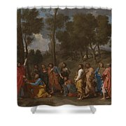 The Sacrament Of Ordination Shower Curtain