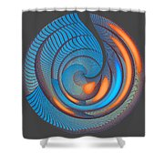 The Seventh Opinion Top View Shower Curtain