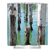 The Signs Of Time Shower Curtain