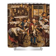 The Tax Collectors Office  Shower Curtain