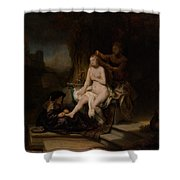 The Toilet Of Bathsheba Shower Curtain
