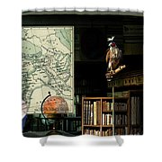 The Victorian Astronomer Shower Curtain