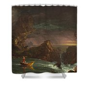 The Voyage Of Life Shower Curtain