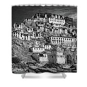 Thiksey Monastery Shower Curtain