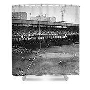 Thomson Home Run, 1951 Shower Curtain