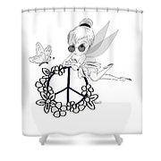 Tinky Shower Curtain