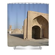Towers Of Silence. Yazd, Iran Shower Curtain