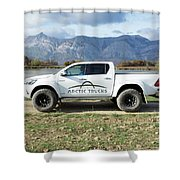 Toyota Hilux At37 Shower Curtain