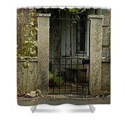 Travel Photography  Shower Curtain
