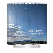 Travelling To Flagstaff Shower Curtain