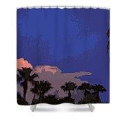 Tropic Twilight Shower Curtain