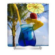 Tropical Cocktail Shower Curtain