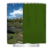 Tuolumne Meadows Shower Curtain
