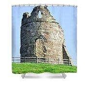 Tutbury Castle Ruins Shower Curtain