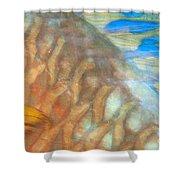 Underwater Close-up Shower Curtain