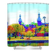 University Of Tampa Shower Curtain