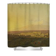 View Of Catania Shower Curtain