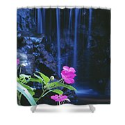 Waimea Falls Park Shower Curtain