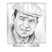 Walter Matthau Shower Curtain