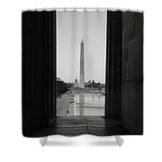 Washington Monument And Capitol Hill Shower Curtain