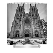 Washington National Cathedral Shower Curtain