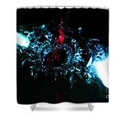 Water Art Shower Curtain