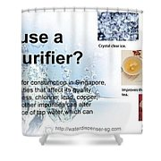 Water Dispenser Singapore Shower Curtain
