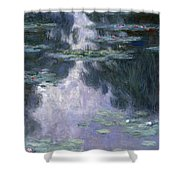 Water Lilies Nympheas Shower Curtain