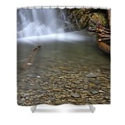 Waterfall, Quebec Shower Curtain