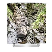 Watkins Glen New York Shower Curtain