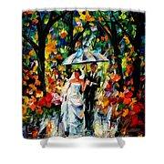 Wedding Under The Rain Shower Curtain