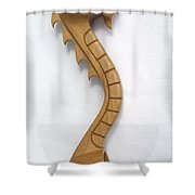 Welsh Spoon Shower Curtain