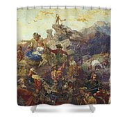 Westward The Course Of Empire Takes Its Way Shower Curtain