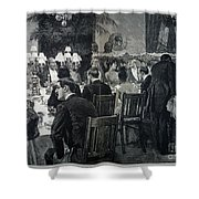 White House: State Dinner Shower Curtain