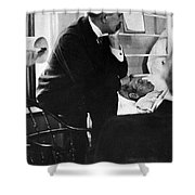 William Osler, Canadian Physician Shower Curtain