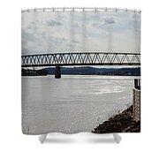 Williamstown Bridge  Shower Curtain