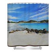 Wip- Orient Beach Shower Curtain