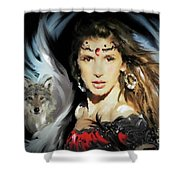 Wolf Totem Shower Curtain