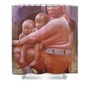 Woman Of Substance Shower Curtain