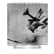 World War I: Aerial Combat Shower Curtain