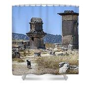 Xanthos - Turkey Shower Curtain
