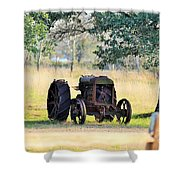 Rolling On Stone Shower Curtain