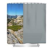 Yosemite National Park Hiking Shower Curtain